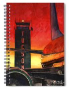 Control Tower Spiral Notebook