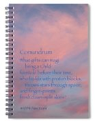 Conundrum Spiral Notebook