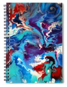 Convergence Of The Four Winds Spiral Notebook
