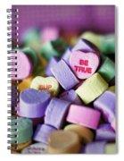 Conversation Hearts Spiral Notebook