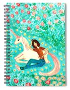 Conversation With A Unicorn Spiral Notebook