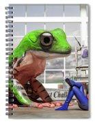Conversational Art  Spiral Notebook