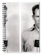 Convict No. 1428 - Whitey Bulger - Alcatraz 1959 Spiral Notebook