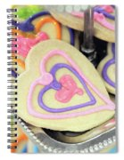 Cookie Heart Spiral Notebook