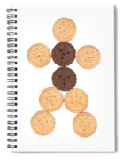Cookie Man Spiral Notebook
