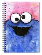 Cookie Monster Spiral Notebook