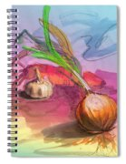 Cooking In Spain Spiral Notebook