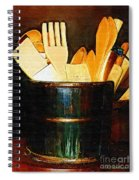 Cooking Retro Spiral Notebook