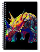 Cool Dinosaur Color Designed Creature Spiral Notebook