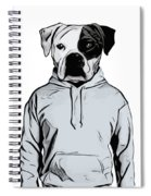 Cool Dog Spiral Notebook