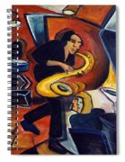 Cool Jazz Spiral Notebook