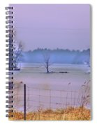 Cool Morning In Vermont Spiral Notebook