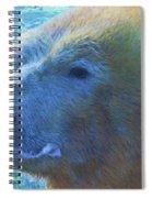 Cool Polar Bear Spiral Notebook