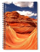 Cool Spring Day At The Wave Spiral Notebook