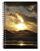 Cool Sunrise Spiral Notebook
