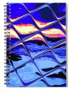 Cool Tile Reflection Spiral Notebook