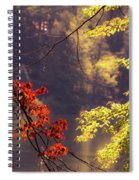 Cool Vermont Autumn Day Spiral Notebook