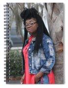 Cool With Braids 5 Spiral Notebook
