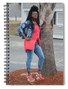 Cool With Braids 6  Spiral Notebook