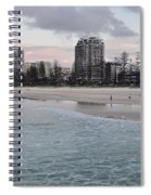 Coolangatta Sunset Spiral Notebook