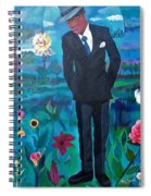 Cooler By The Lake/male Spiral Notebook