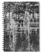 Cooling Off In The Summer Spiral Notebook