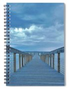 Cooling Sunset Spiral Notebook