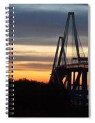 Cooper River Bridge - Charleston Sc Spiral Notebook