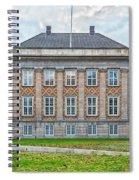 Copenhagen Eastern High Court Spiral Notebook