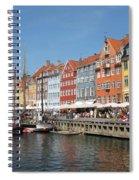 Copenhagen Harbor Spiral Notebook