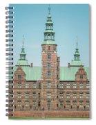 Copenhagen Rosenborg Castle Back Facade Spiral Notebook