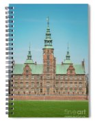 Copenhagen Rosenborg Castle Facade Spiral Notebook