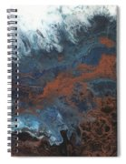 Copper Abstract 2 Spiral Notebook