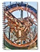 Copper Bike Liberty Ambassador Ny  Spiral Notebook