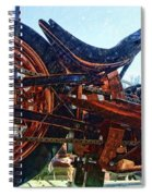 Copper Bike Ny Centennial Statue Of Liberty Ny Spiral Notebook