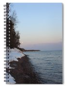 Copper Country Moonset Spiral Notebook