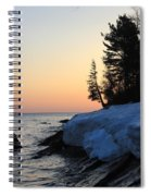 Copper Country Spring Sunrise Spiral Notebook