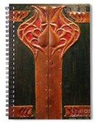 Copper Doors  Spiral Notebook