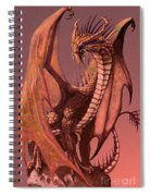 Copper Dragon Spiral Notebook