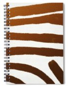 Copper Lines Spiral Notebook
