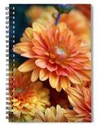 Copper Mums Spiral Notebook