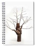 Copper Tree Hand A Sculpture By Adam Long Spiral Notebook