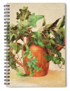 Copper Watering Can Spiral Notebook