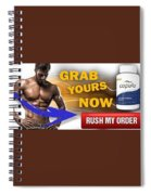 Copula Testosterone Boost Spiral Notebook
