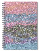Coral Blues  Spiral Notebook