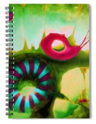 Coral Cavern 1.1 Spiral Notebook