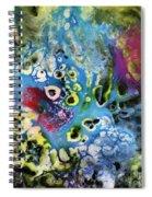 Coral Spiral Notebook