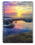 Coral Pools Spiral Notebook