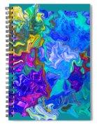 Coral Reef Fantasy Spiral Notebook