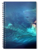 Coral Reef From 28000 Feet Spiral Notebook